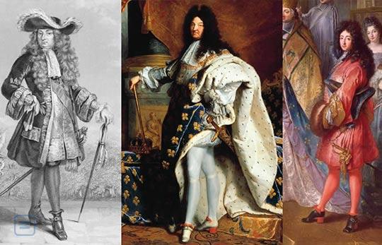 High heels were first made for men